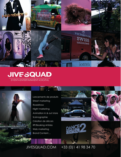 logo agence Jive Squad